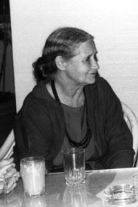 Doris Lessing, ICFA 10; photo courtesy of FAU Special Collections, Robert A. Collins Collection
