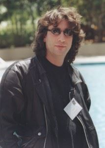 Neil Gaiman; photo courtesy of FAU Special Collections, Robert A. Collins Collection