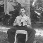 Robert A. Collins, ca. 1944, Miami, Florida, photo courtesy of Judith Collins