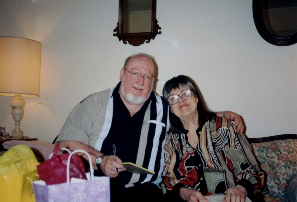 Bob and Laura Collins, 2000, photo courtesy of Judy Collins